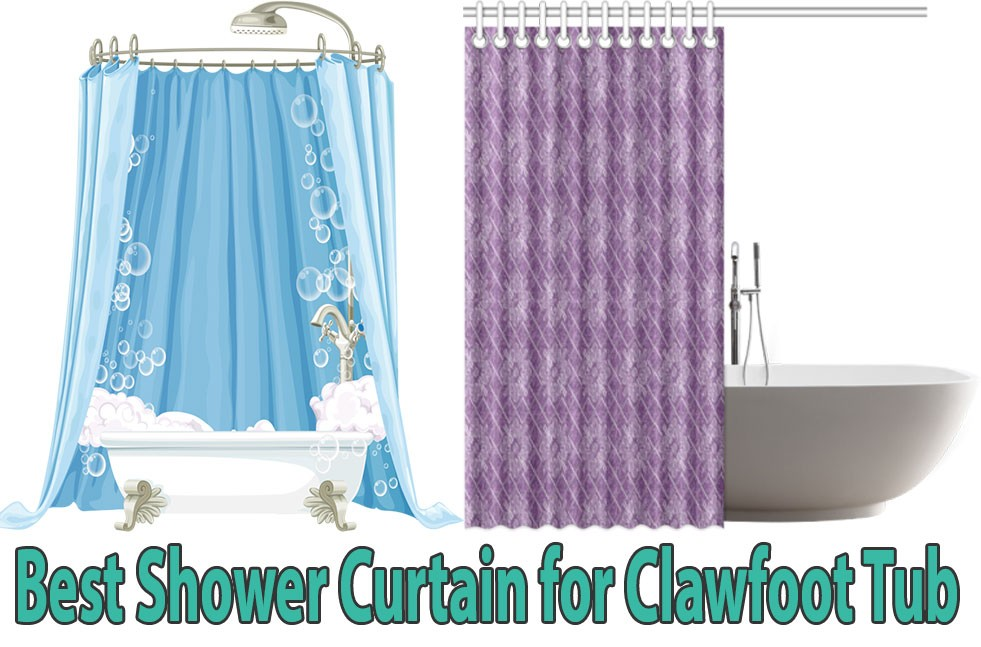 Best Shower Curtain For Clawfoot Tub In